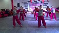 《拜新年》南社舞之韵表演原创附教学口令分解动作演示