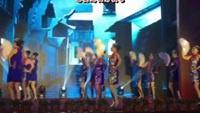 茉莉广场舞《夜来香》原创扇舞新版12人变队形附教学附正背面口令分解教学演示