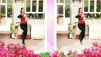 小梅广场舞  拜新年口令分解动作教学