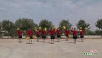 武汉新洲云飞舞蹈   闯码头 表演 团队版 经典正背面演示及口令分解动作教学