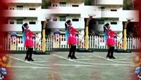 湖南灵迈原创《送祝福》喜庆花球舞正背面演示附分解口令分解动作教学