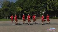 长青街舞之韵舞蹈队三队舞蹈 草原的你 表演 团队版 原创附正背面教学口令分解动作演示
