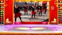 林州舞悦广场舞,《为我加油》正反面演示及分解动作教学