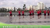 广西廖弟健身广场舞 祝福西藏 表演 正反面演示及分解动作教学