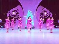 北京玉渊潭金凤舞蹈 我和你 表演