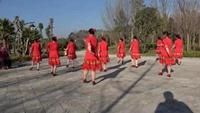 澂江广场舞沙坝映山红广场舞队《烟花三月下扬州》正背面口令分解动作教学演示