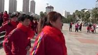 快樂妙姿廣場舞隊周年慶活動《兔子舞》表演者:全體人員正背面演示及慢速口令教學