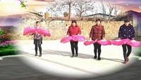 薛楼广场舞《拜新年》完整版演示及口令分解动作教学