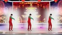 凤姐广场舞《拜新年》编舞杨杨舞曲黄峰附正背表演口令分解动作分解教学