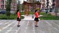 香兰广场舞《哦想》原创附教学口令分解动作演示