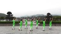 修水俏妈妈广场舞 踏春 表演 正背面演示及口令分解动作教学