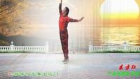 子龙明星队员篮子《东方红》编舞;饶子龙正反面演示及分解动作教学