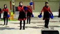 九功风信子舞蹈《闯码头》正反面演示及分解动作教学