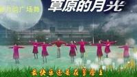 魅力韵广场舞《草原的月光》编舞:彭晓晖完整版演示及分解教学演示
