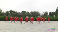 信阳市十里社区舞蹈队广场舞 中国梦 表演 团队版