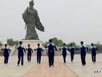 临淄幸福快乐广场舞 自由自在 表演