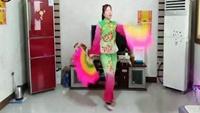 桃都廣場舞《豐收年》原創異地姐妹合屏正反面演示及分解動作教學