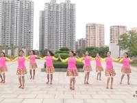 福建同安雙溪公園廣場舞 因為愛著你 背面展示
