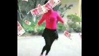 君华姐妹花广场舞【拜新年】完整版演示及口令分解动作教学
