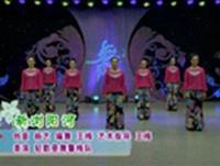 王梅舞蹈 新浏阳河 表演 原创附正背面教学口令分解动作演示