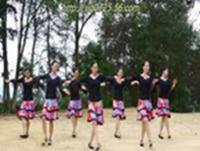 紫蝶踏歌廣場舞 哥哥妹妹 表演 完整版演示及分解教學演示