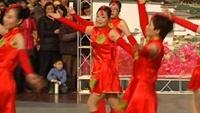 龍井幼兒園教師獲區廣場舞大賽二等獎作品《中國美》完整版演示及分解教學演示