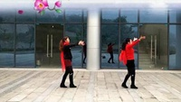 北碚城北太阳花广场舞《健身操》正背面演示及口令分解动作教学