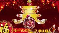慢城霞依广场舞《拜新年》异地姐妹合屏版本2口令分解动作教学