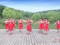 芜湖湘姐广场舞 好一朵女人花 表演