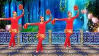 青春年华广场舞《拜新年》原创新年舞附分解原创附教学口令分解动作演示