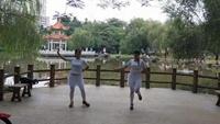 阿梅廣場舞 (今夜的你又在和誰約會)原創楊麗萍完整版演示及分解教學演示