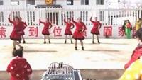 玲子广场舞参加白场联谊会三十出头团队版正背面演示及口令分解动作教学和背面演