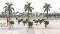張春麗廣州廣場舞 藍月谷 表演 正背面演示及口令分解動作教學