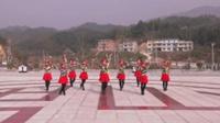 岳阳大塅开心健身队广场舞 浏阳河 表演 团队版