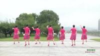 吴越蝶韵广场舞 落花的窗台 背面展示