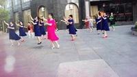 广水市北关社区广场舞《小小新娘花》群舞 慕容青口令分解动作教学演示