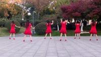 无锡五洲晴雨广场舞《等爱的玫瑰》口令分解动作教学