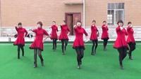 香聚广场舞:自由自在(正背面)原创附教学口令分解动作演示