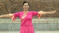 文塔美樂舞蹈隊廣場舞 桃花美桃花開 表演 團隊版 正反面演示及分解動作教學