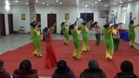六套海燕广场舞协会举办三八妇女节活动、原创拜新年附正背表演口令分解动作分解教学