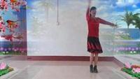 沂水、柳泉青美舞蹈《心里藏着你》编舞老师春英口令分解动作教学演示