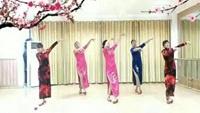 江南姐妹广场舞【好一朵女人花】编舞艺子龙正反面演示及分解动作教学