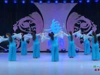 北京华丽飞歌广场舞 好一朵女人花 背面展示