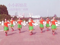 云南茉莉花广场舞 小小新娘花 表演