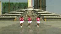 固始县黄霞广场舞 哦想 表演 完整版演示及口令分解动作教学