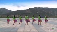 連云港賀月秋明星隊廣場舞 大風歌 背面展示 正背面口令分解動作教學演示