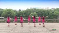 江西江财飞悦广场舞 冰雪天堂 背面展示