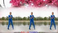 小方广场舞《映山红》视频制作:龙虎影音经典正背面演示及口令分解动作教学