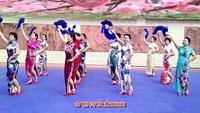 广州花飘飘舞队 《女人花》。旗袍秀排练队形版正背面演示及口令分解动作教学