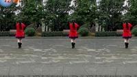 重庆永川莉平广场舞《拜新年》54正背面演示及口令分解动作教学
